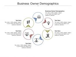 Business Owner Demographics Ppt Powerpoint Presentation Topics Cpb