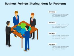 Business Partners Sharing Ideas For Problems