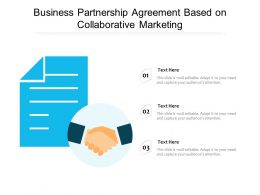 Business Partnership Agreement Based On Collaborative Marketing