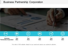 Business Partnership Corporation Ppt Powerpoint Presentation Gallery Summary Cpb