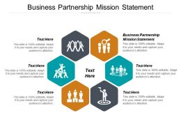 Business Partnership Mission Statement Ppt Powerpoint Presentation Gallery Pictures Cpb