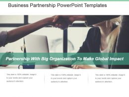 Business Partnership Powerpoint Templates