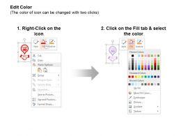 Business Partnership Profit Sharing Analysis Pie Chart Ppt Icons Graphics