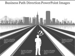 Business Path Direction Powerpoint Images