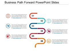 Business Path Forward PowerPoint Slides
