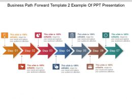 Business Path Forward Template 2 Example Of Ppt Presentation