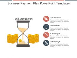 Business Payment Plan Powerpoint Templates