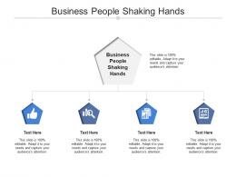Business People Shaking Hands Ppt Powerpoint Presentation Layouts Structure Cpb