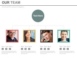Business Peoples For Team Powerpoint Slide