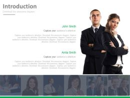 Business Peoples Introduction Slide Powerpoint Slides