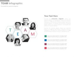 Business Peoples Team For Management Powerpoint Slides