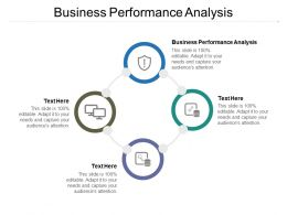Business Performance Analysis Ppt Powerpoint Presentation Icon Cpb