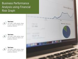 Business Performance Analysis Using Financial Risk Graph