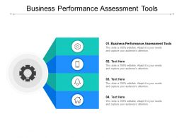 Business Performance Assessment Tools Ppt Powerpoint Presentation Professional Graphics Example Cpb