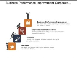 Business Performance Improvement Corporate Finance Executives Supply Chain Collaboration Cpb