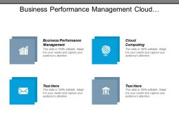 Business Performance Management Cloud Computing Development Bootcamp Career Training Cpb