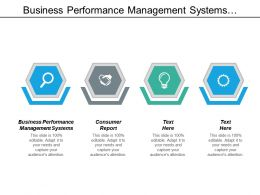 Business Performance Management Systems Consumer Report Machine Learning Cpb