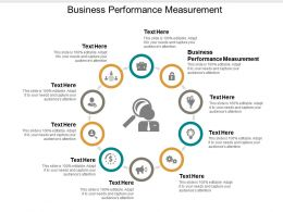 Business Performance Measurement Ppt Powerpoint Presentation File Slides Cpb