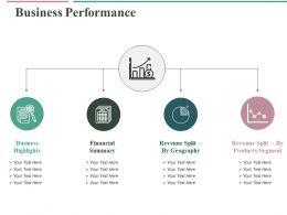 Business Performance Ppt Slides Elements