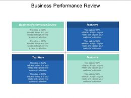 Business Performance Review Ppt Powerpoint Presentation Icon Good Cpb