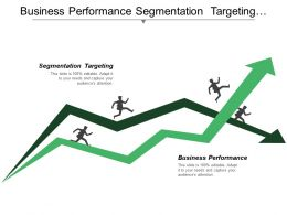 Business Performance Segmentation Targeting Approach Market Sales Channels