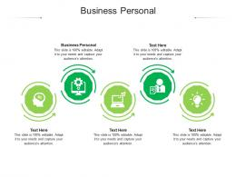 Business Personal Ppt Powerpoint Presentation Icon Influencers Cpb