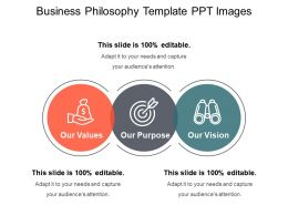 Business Philosophy Template Ppt Images