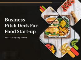 Business Pitch Deck For Food Start Up Powerpoint Presentation Slides