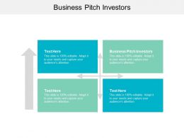 Business Pitch Investors Ppt Powerpoint Presentation File Templates Cpb