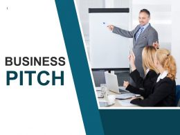 Business Pitch Powerpoint Presentation Slides