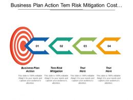 Business Plan Action Term Risk Mitigation Cost Performance Management Cpb