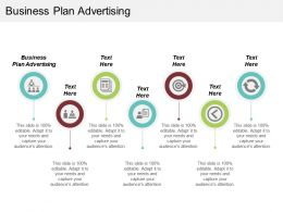 Business Plan Advertising Ppt Powerpoint Presentation File Influencers Cpb