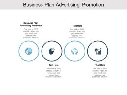 Business Plan Advertising Promotion Ppt Powerpoint Presentation Model Cpb