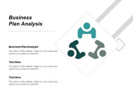 Business Plan Analysis Ppt Powerpoint Presentation Gallery Microsoft Cpb
