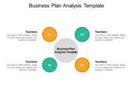 Business Plan Analysis Template Ppt Powerpoint Presentation Portfolio Layout Cpb