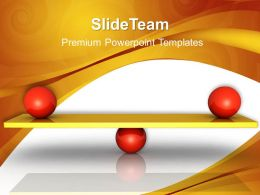 Business Plan And Strategy Powerpoint Templates Balanced Diagram Ppt Slides