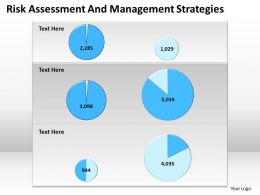 Business Plan Assessment And Management Strategies Powerpoint Templates PPT Backgrounds For Slides 0527