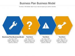 Business Plan Business Model Ppt Powerpoint Presentation Model Vector Cpb