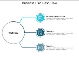 Business Plan Cash Flow Ppt Powerpoint Presentation Gallery Display Cpb