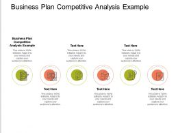 Business Plan Competitive Analysis Example Ppt Powerpoint Presentation Infographics Guidelines Cpb