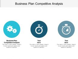 Business Plan Competitive Analysis Ppt Powerpoint Presentation File Outline Cpb
