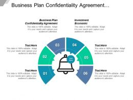 Business Plan Confidentiality Agreement Investment Economic Transnational Management Cpb