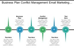 Business Plan Conflict Management Email Marketing Leads Management Cpb