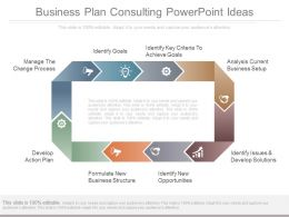 Business Plan Consulting Powerpoint Ideas