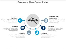Business Plan Cover Letter Ppt Powerpoint Presentation File Designs Cpb