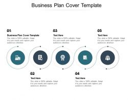 Business Plan Cover Template Ppt Powerpoint Presentation Summary Gridlines Cpb
