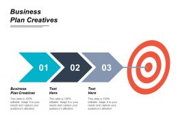 Business Plan Creatives Ppt Powerpoint Presentation File Example Cpb