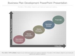 Business Plan Development Powerpoint Presentation