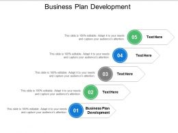 Business Plan Development Ppt Powerpoint Presentation Inspiration Tips Cpb