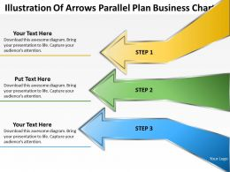 Business Plan Diagram Parallel Chart Powerpoint Templates PPT Backgrounds For Slides